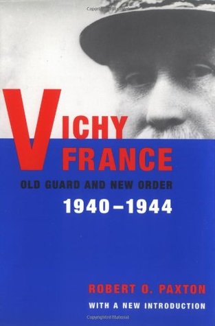 "Book cover: ""Vichy France: Old Guard and New Order"""