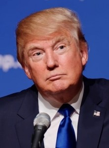 Donald Trump photo by Anythingyouwant, via Wikimedia Commons