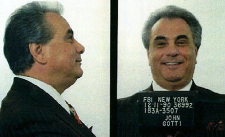 Mug shot of John Gotti
