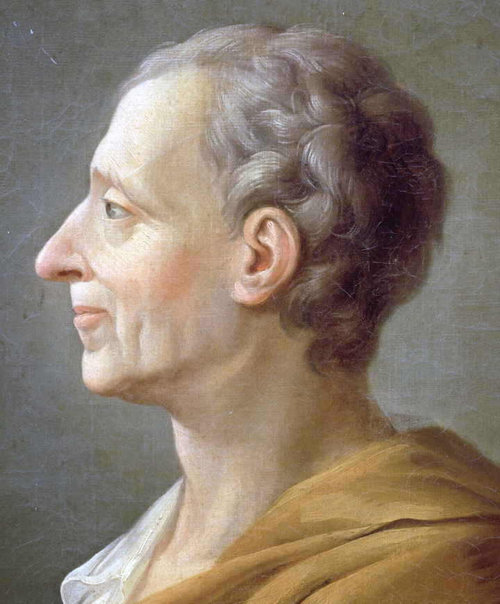 Portrait of Charles-Louis de Secondat, Baron de La Brède et de Montesquieu by or after Jacques-Antoine Dassier