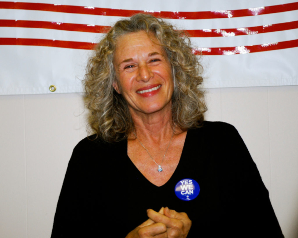 Carole King, Bay City, MI, Obama For America 2008