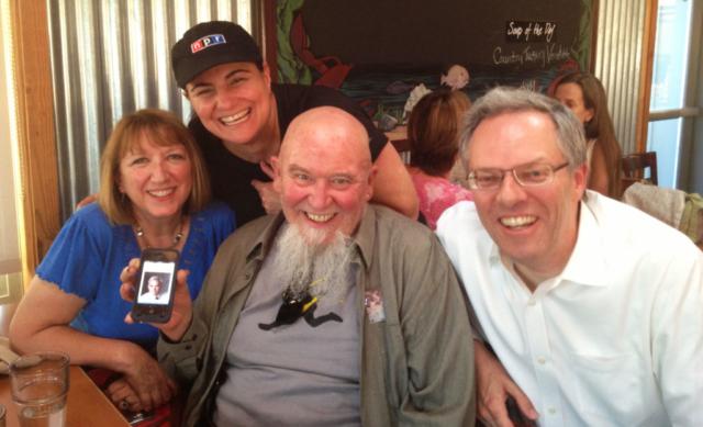 KUSP News reunion: Carrie Kahn of NPR, Johnny Simmons, Spencer Critchley