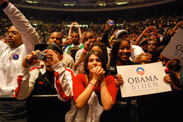 Jay-Z Concert, Detroit, Obama For America 2008
