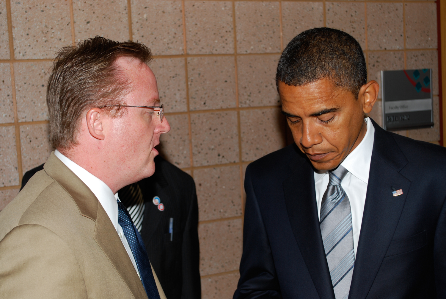 Robert Gibbs, Barack Obama, 2008