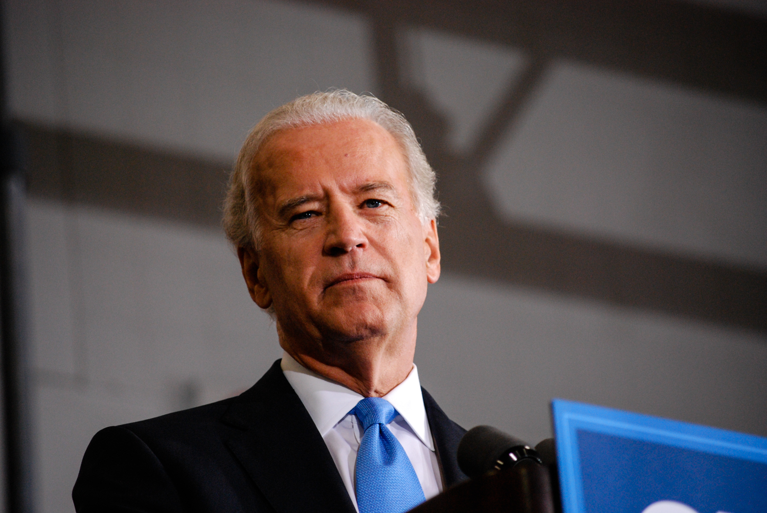Joe Biden speaking at Obama For America event in St. Clair Shores, MI, 2008