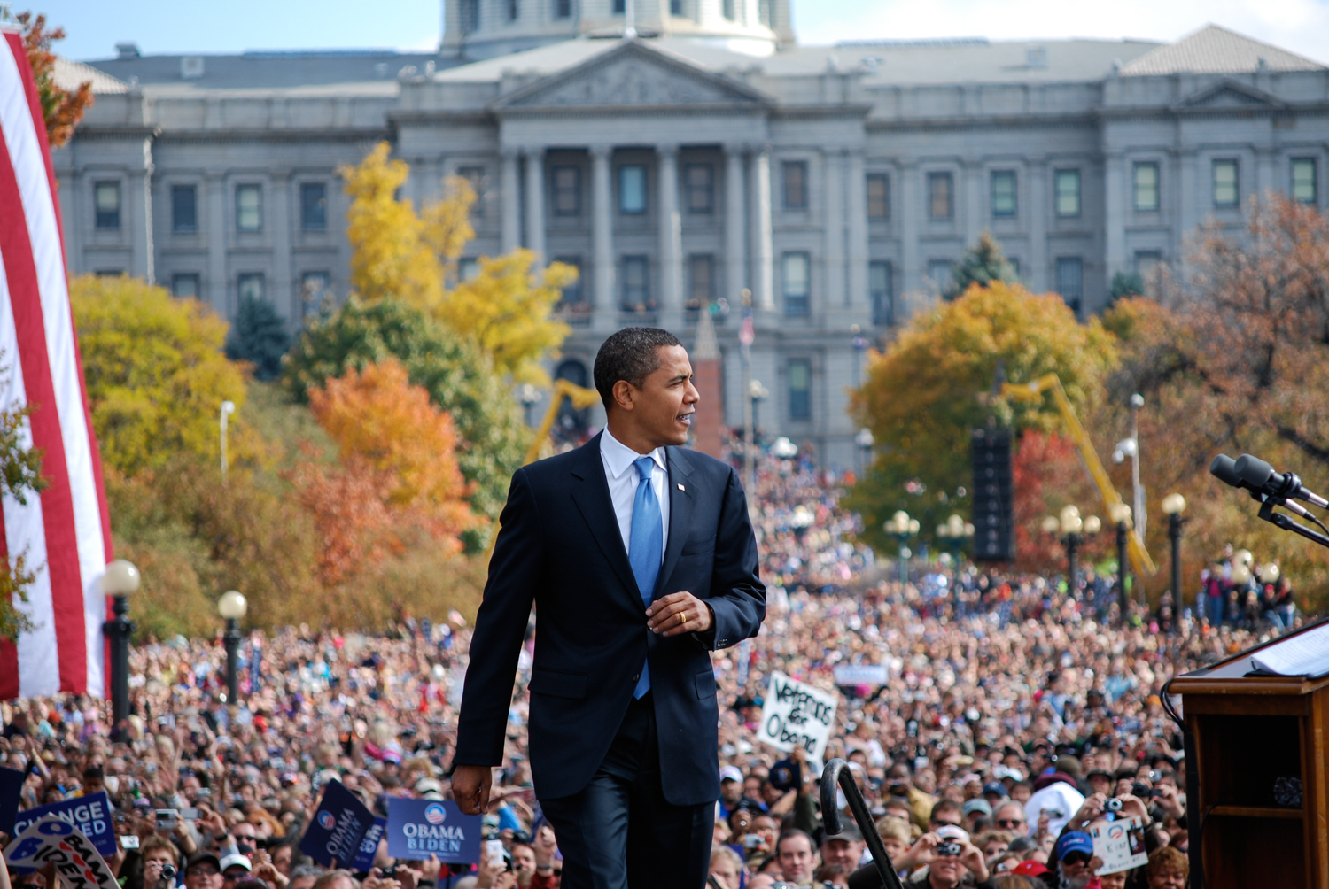 Barack Obama, Denver, CO, 2008