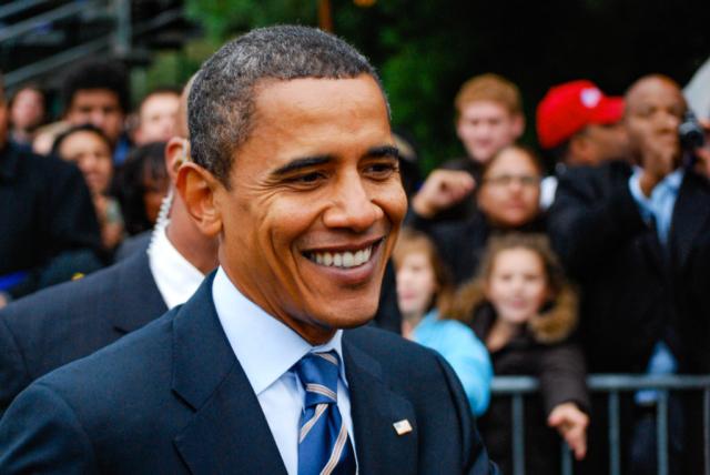 Barack Obama, Eastern Michigan University, 2008
