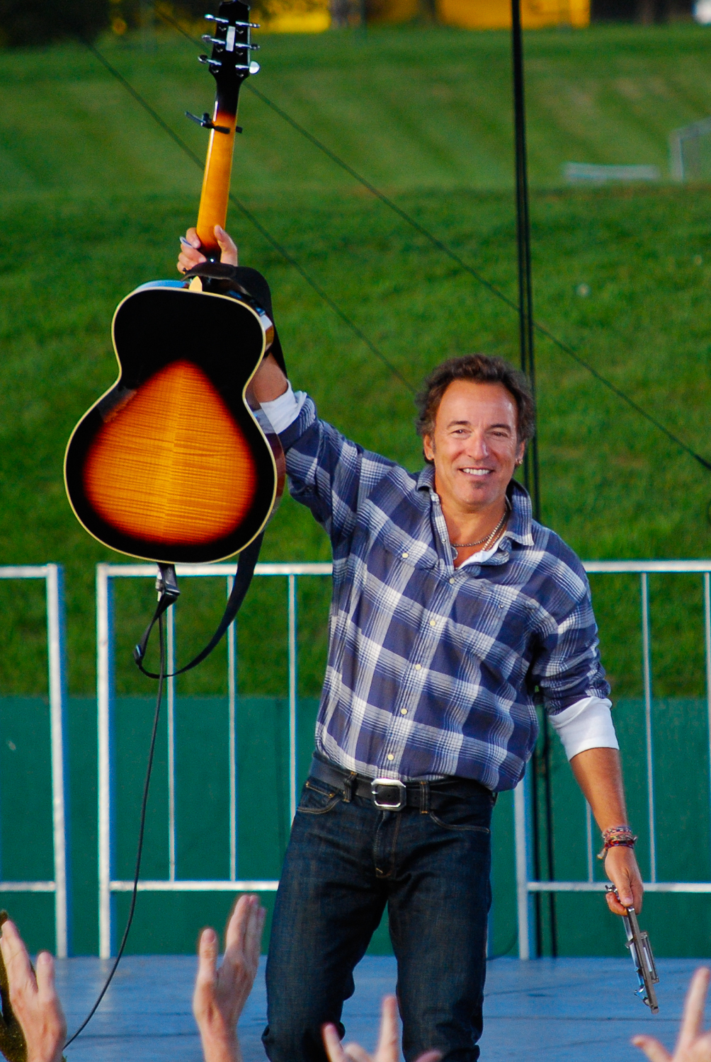 Bruce Springsteen, Obama For America 2008
