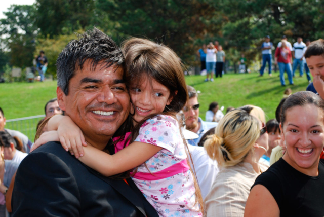 George Lopez, Detroit, Obama For America 2008