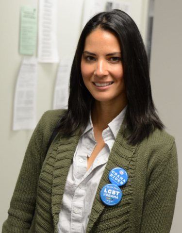 Olivia Munn, Obama For America Virginia HQ, 2012