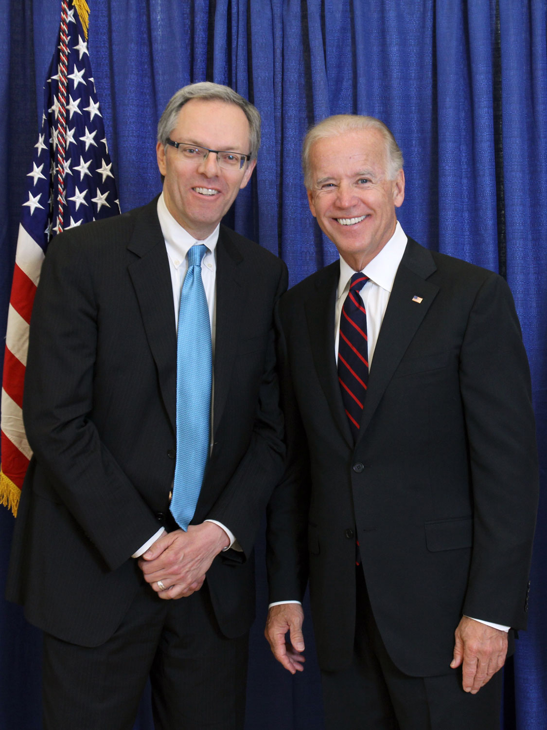 Joe Biden, Spencer Critchley, Carmel, CA, 2012