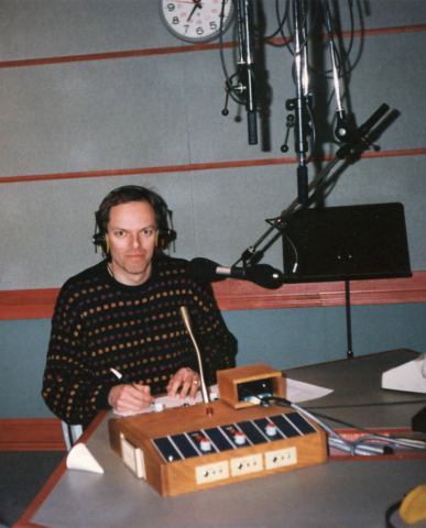 """Spencer Critchley hosting CBC Radio's """"Prime Time"""""""