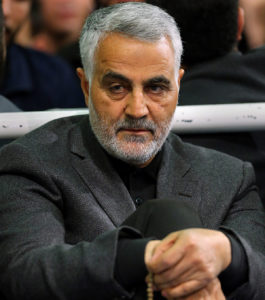 Qassim Suleimani photo from Wikimedia Commons
