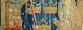 Tapestry: King Arthur as one of the None Worthies
