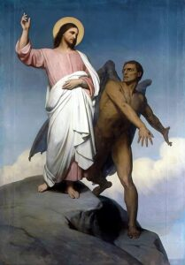 The Temptation of Christ, by Ary Scheffer