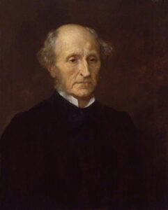 Portrait of John Stuart Mill by George Frederic Watts