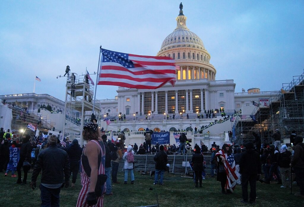 Pro-Trump mob at the U.S. Capitol